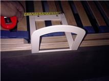 Adjustable Bed side retaining bar