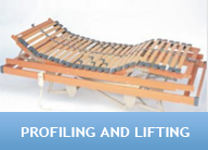profiling-and-lifting adjustable bed
