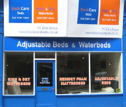 Adjustable bed and waterbed Shop in Portsmouth
